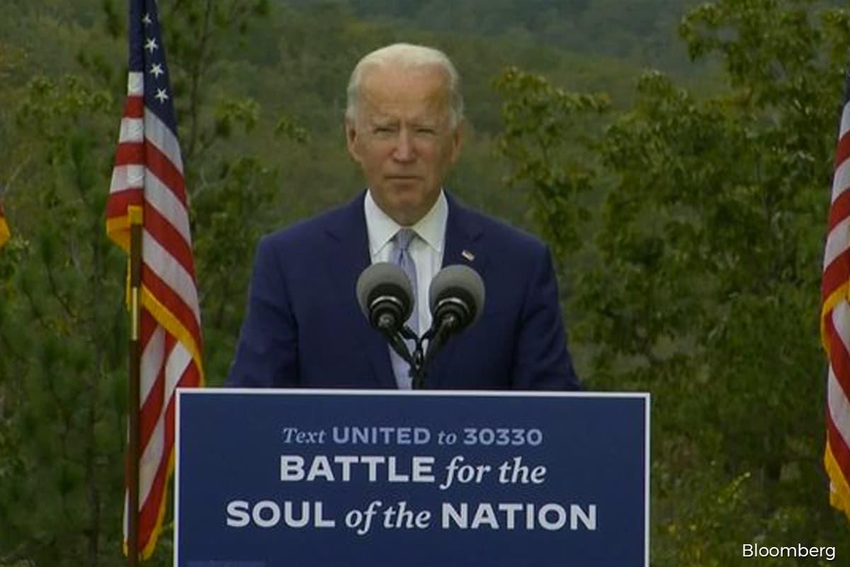Biden makes closing argument in Georgia, invoking Roosevelt