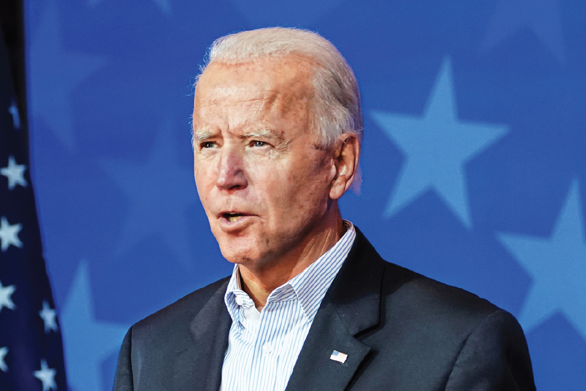 Biden has already made his mark in US history by garnering more votes than any other US presidential candidate. (Photo by Reuters)