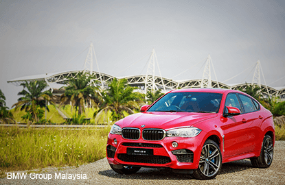 BMW Group Malaysia unveils the new BMW X6 M
