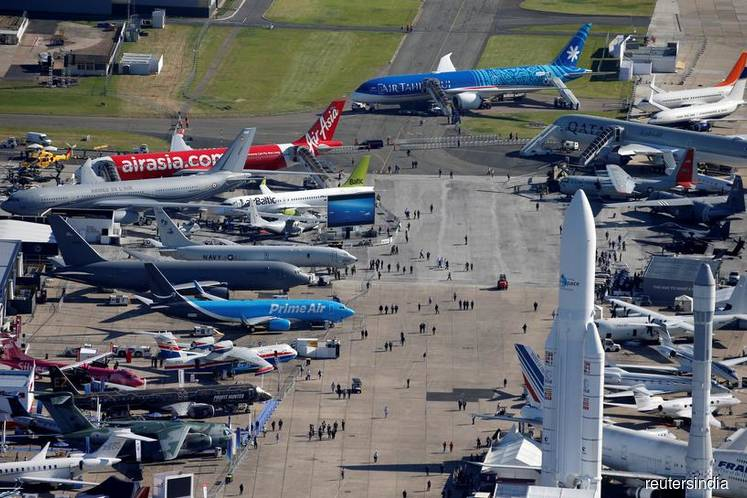 Boeing and Airbus bag US$15 bil of deals in Paris Airshow battle
