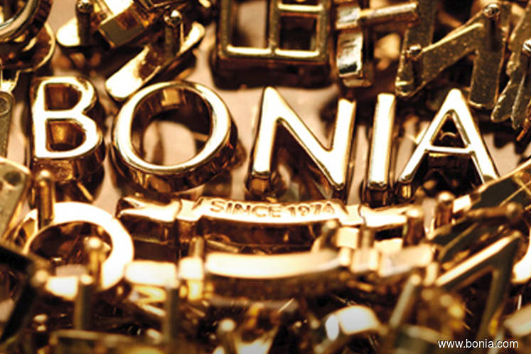 CGSCIMB Research raises target price for Bonia to 31 sen