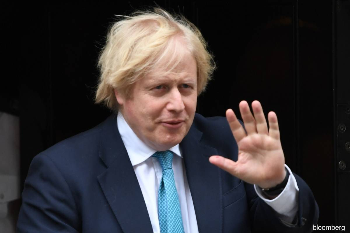 European Union  has 'abandoned' trade pact with United Kingdom , says Johnson