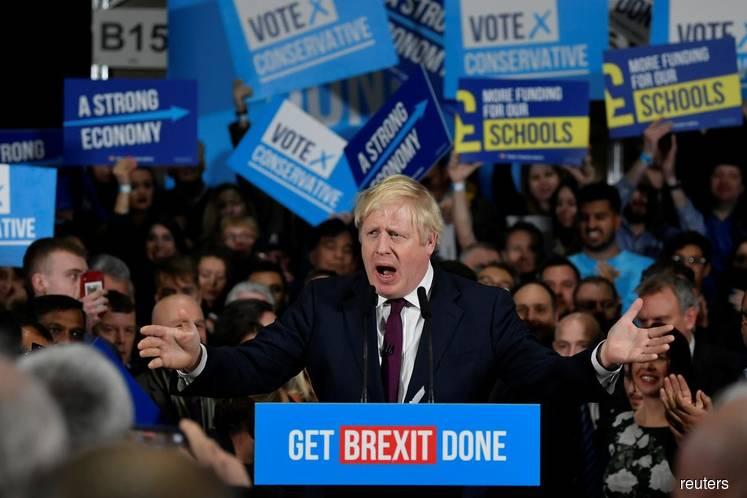 UK's Johnson on track for 24-seat majority - Focaldata