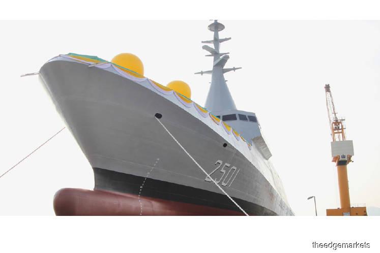 Newsbreak: Cost recovery of warships to boost BHIC's turnaround