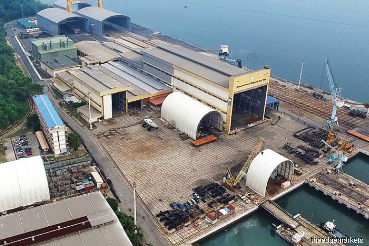 Located in Lumut, Perak, Boustead Naval Shipyard is majority-owned by Boustead Holdings Bhd, which has a 68.84% stake