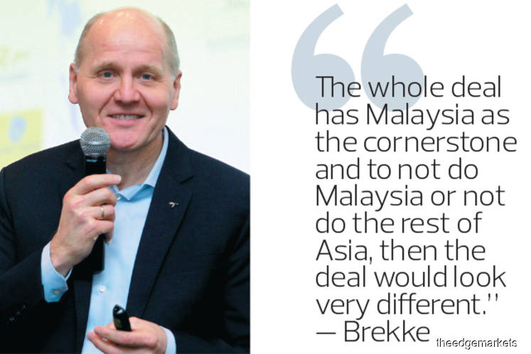Mega merger may be off without Malaysia, says Telenor