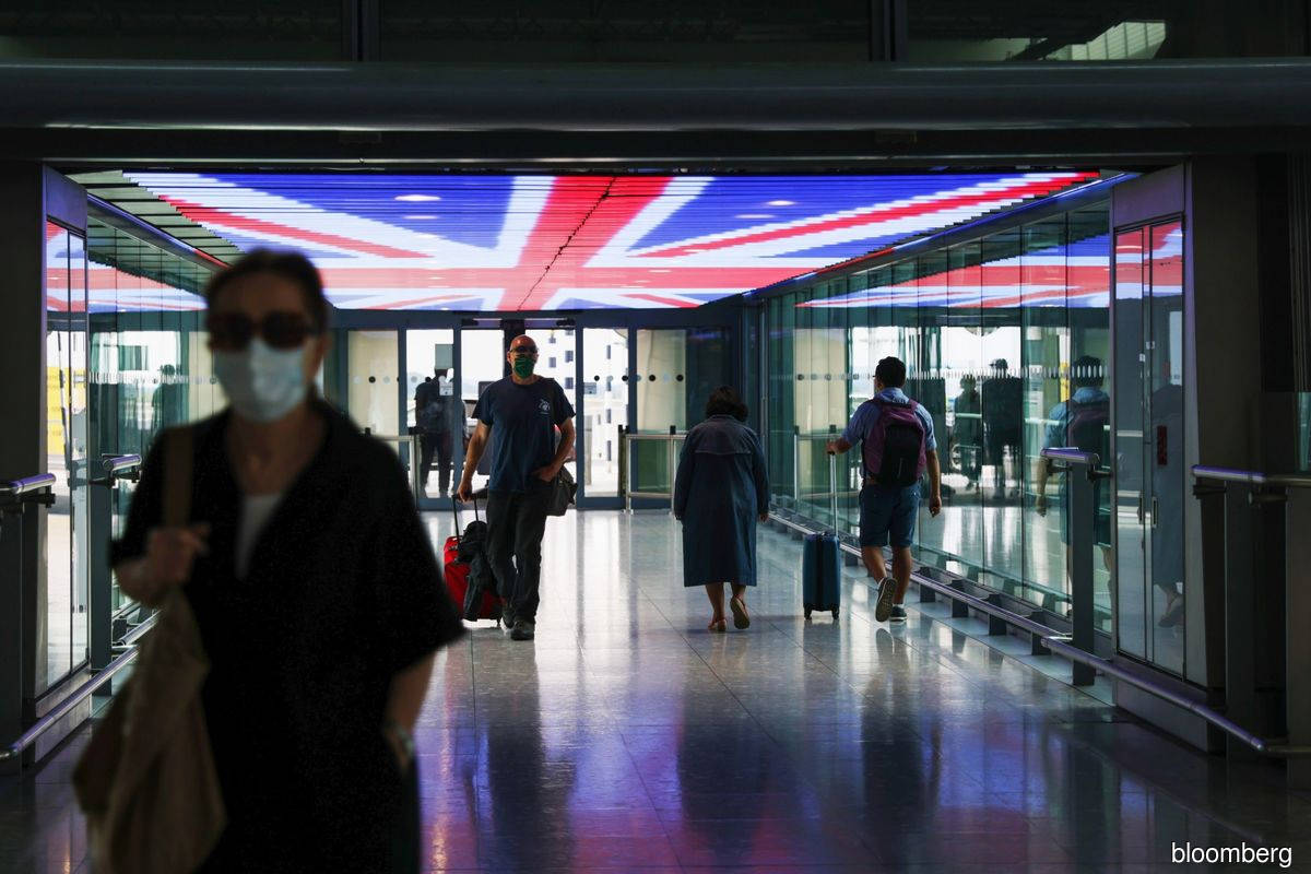 U.K. pares red list to seven countries in bid to encourage air travel