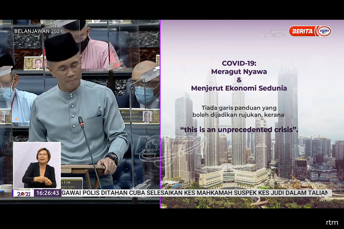 Budget 2021: Govt proposes to increase in Covid-19 Fund to RM65b