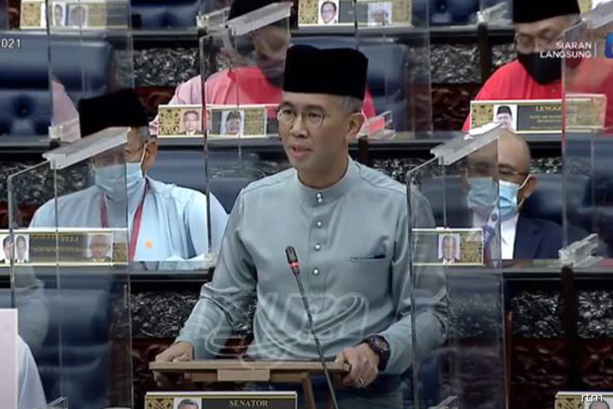 Budget 2021 speech by Finance Minister Datuk Seri Tengku Zafrul begins