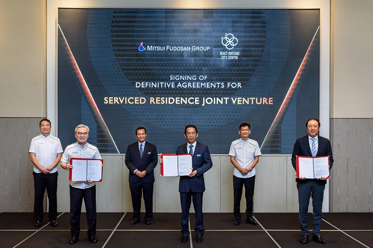 BBCC Development, Mitsui Fudosan ink RM242m en-bloc deal for serviced residence tower in Bukit Bintang City Centre