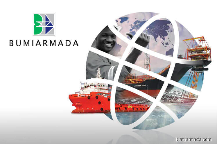 Bumi Armada active, up 2.44% on positive technicals