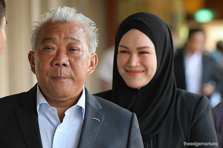 Bung Moktar and Zizie's case to remain at Sessions Court