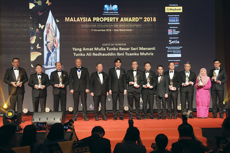Fiabci Malaysia honours property developers