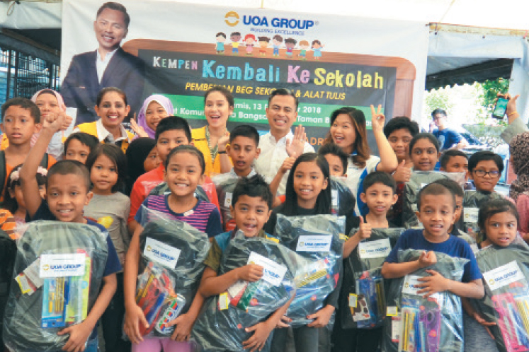 Doing Good: Reaching out to underprivileged children