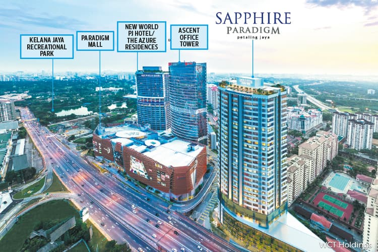 WCT to launch Sapphire Paradigm Residences on Oct 27
