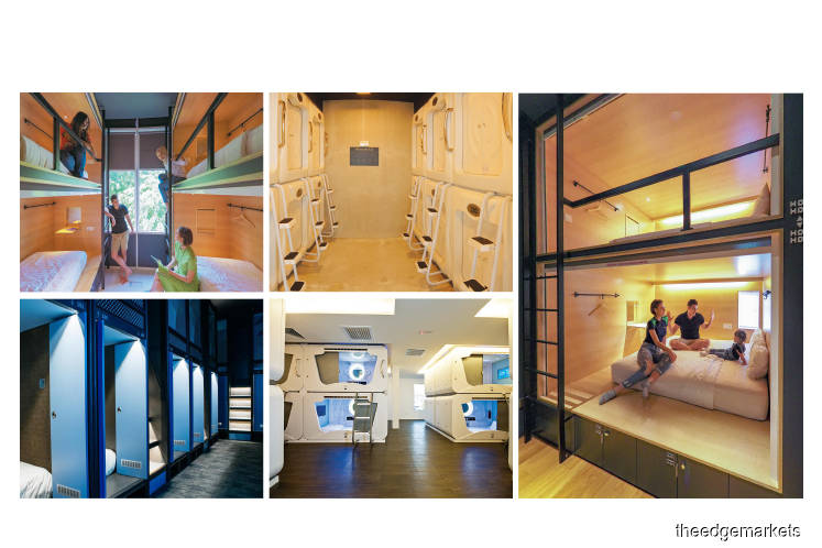 Capsule hotels in Malaysia