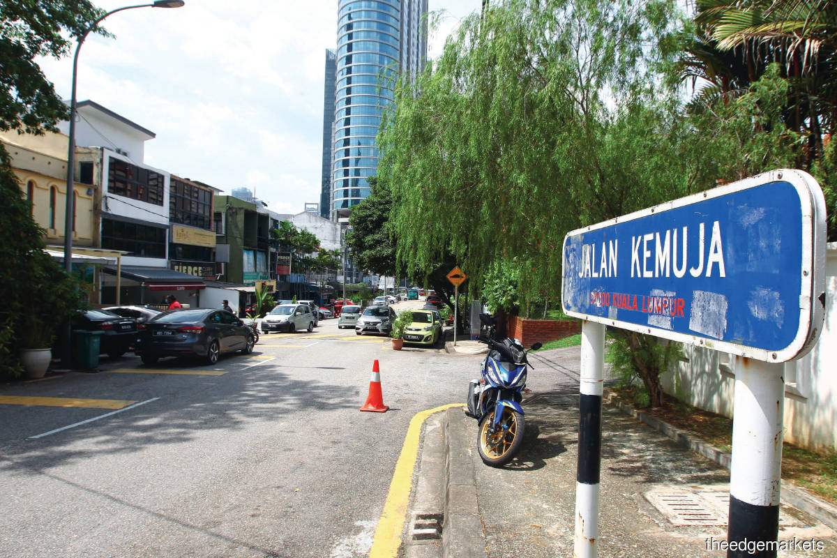 Jalan Kemuja is home to trendy, Instagrammable restaurants and cafes such as Lisette's, Apollo Dining and Coley