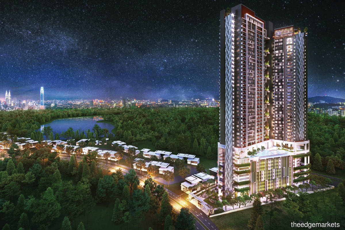 An artist's impression of  SkyVogue Taman Desa (Photo by Skyworld)