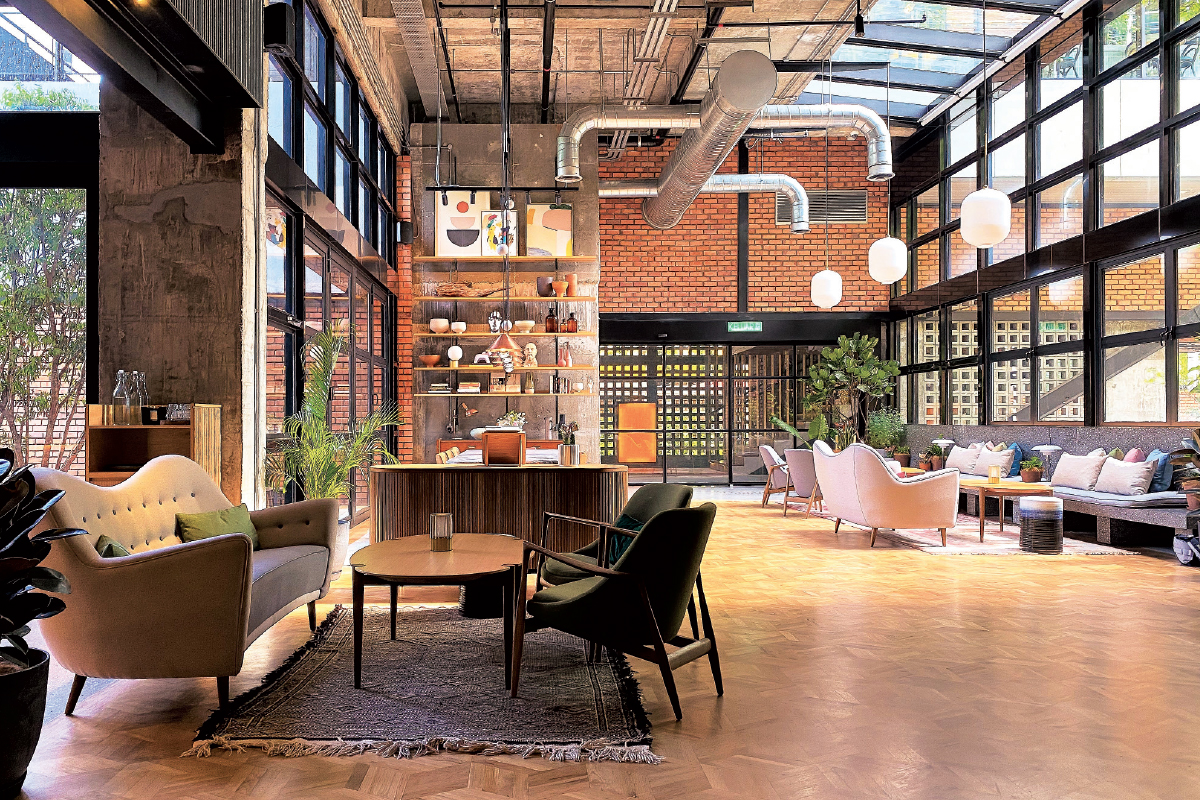 KLoé Hotel in Bukit Bintang won The Edge Malaysia-PAM Green Excellence Award 2020 (Photo by Domaine Architects)