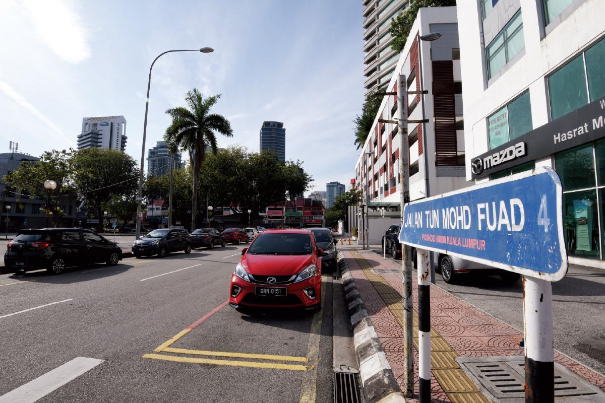 The Tun Mohd Fuad area comprises Jalan Tun Mohd Fuad, Jalan Tun Mohd Fuad 1, Jalan Tun Mohd Fuad 2, Jalan Tun Mohd Fuad 3 and Jalan Tun Mohd Fuad 4 (Photo by Mohd Shahrin Yahya/The Edge)