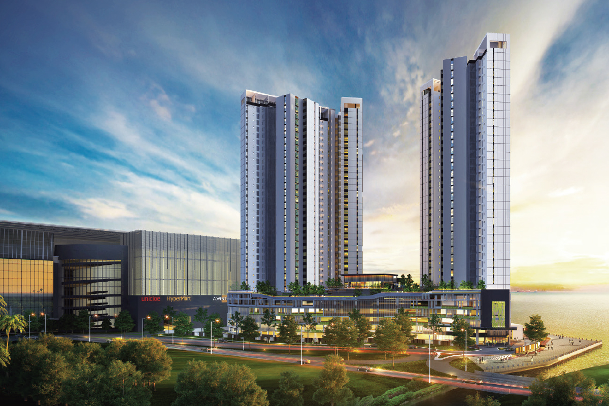 Mezzo is the first residential component at the 32.76-acre The Light City development, which is part of the RM6.5 billion The Light Waterfront Penang (Photo by IJM Perennial Development)