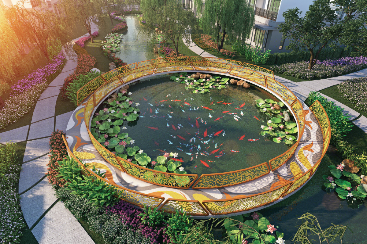 Inspired by the Hangzhou design concept, houses in Glades of Westlake are conceptualised as homes nestled within a garden (Photo by SP Setia)