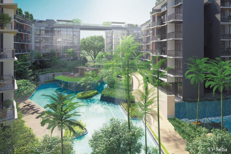 S P Setia launches Daintree Residence in Singapore