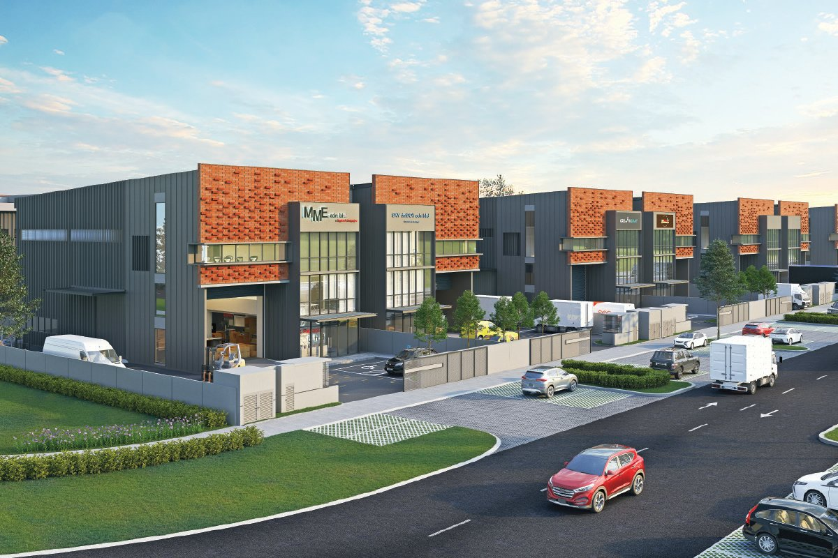 An artist's impression of the i3 semidee factories, scheduled for completion in September 2023 (Photo by SDP)