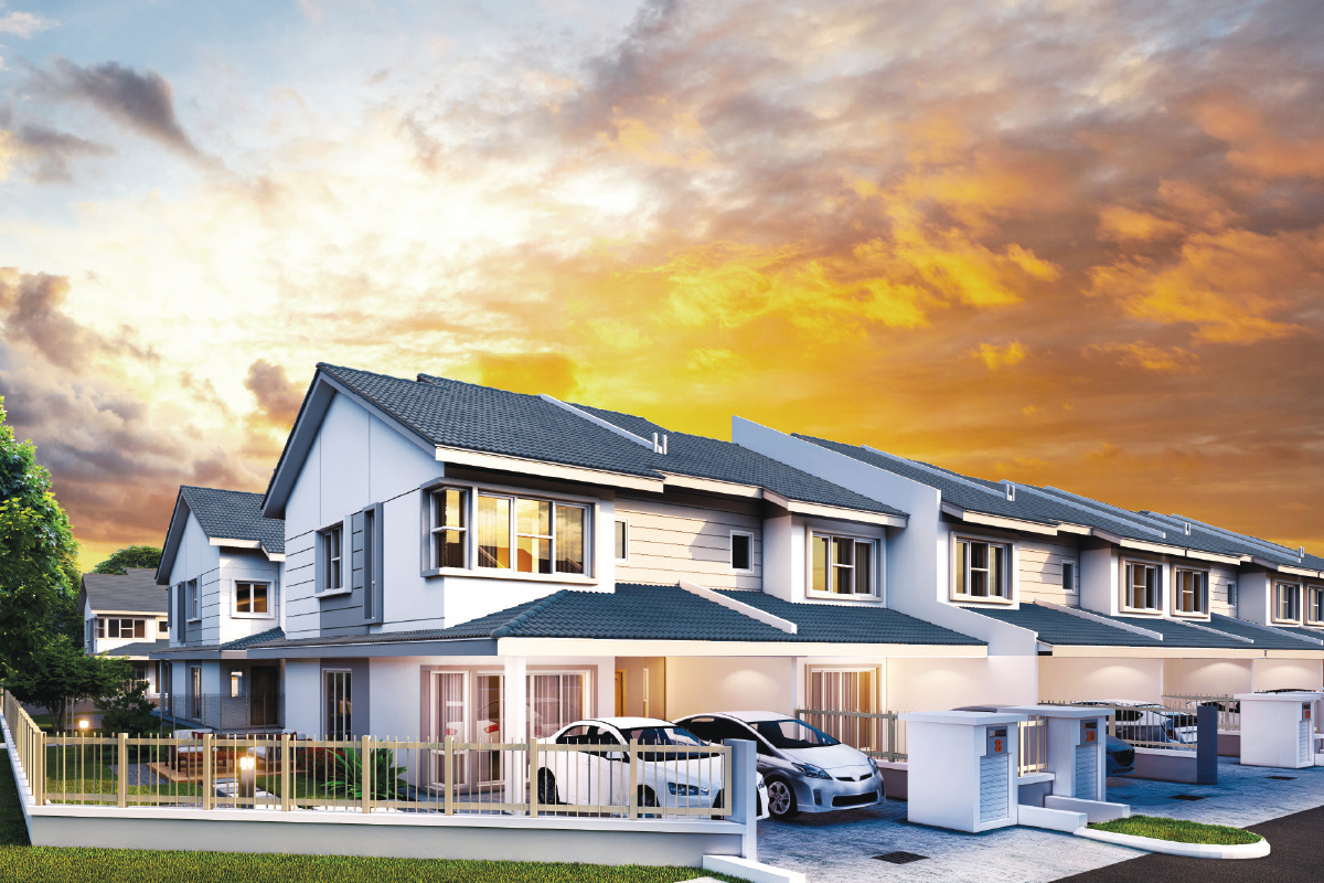 Located on a 6.5-acre freehold parcel, D'Laman Kundang will comprise 179 two-storey link houses designed as family homes (Photo by IGB)