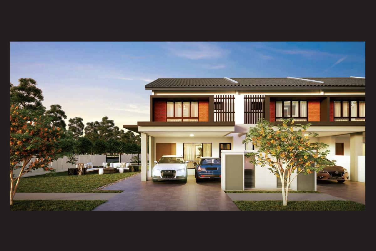 Rimbun Kiara, which has a GDV of RM145.9 million, will comprise 255 double-storey linked homes (Photo by IJM Land)