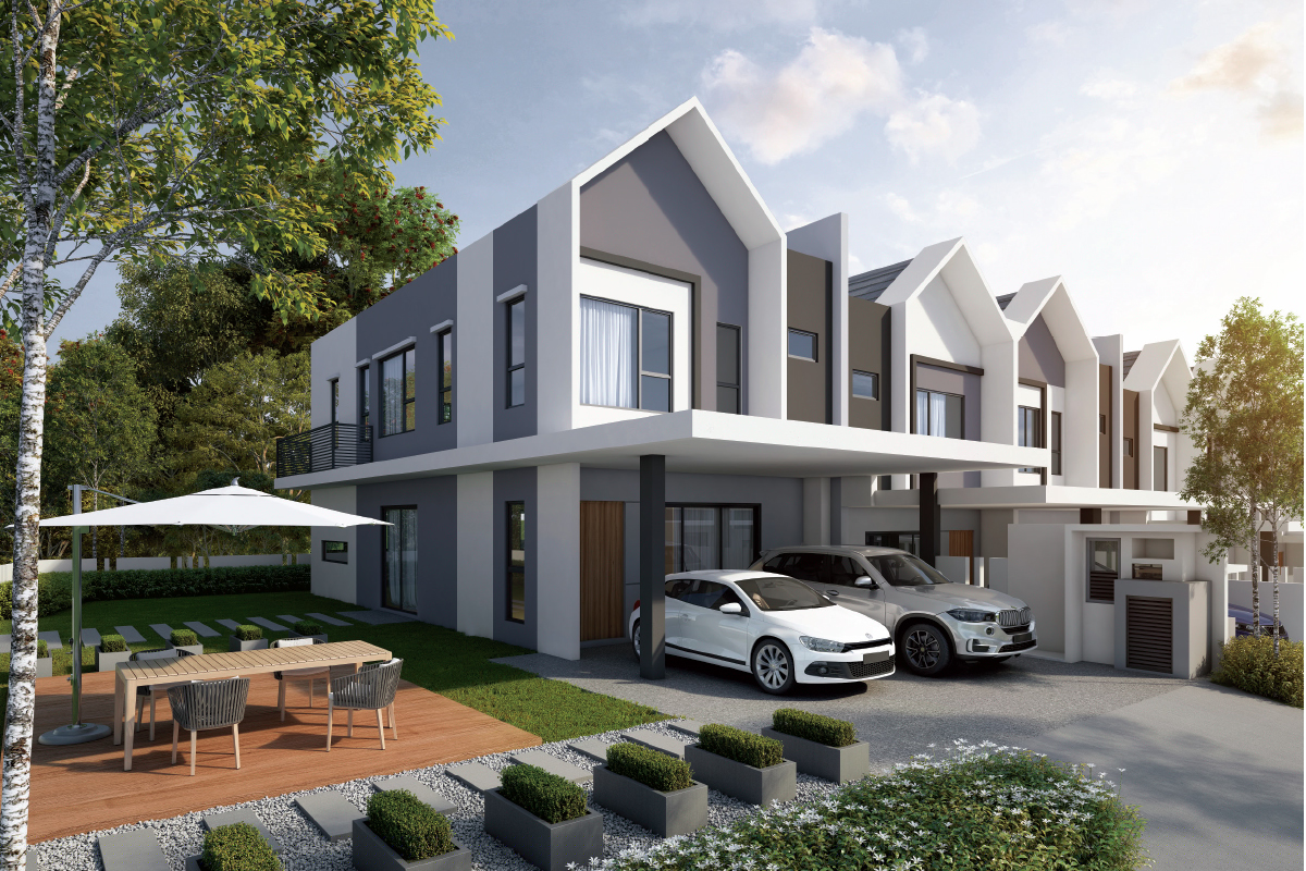 Phase 2D has a GDV of RM105.9 million and will comprise 80 units of two-storey link villas (Photo by IJM Land)