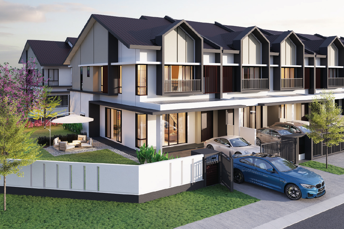 An artist's impression of Lyra, which has a GDV of RM175.59 million (Photos by SDP)