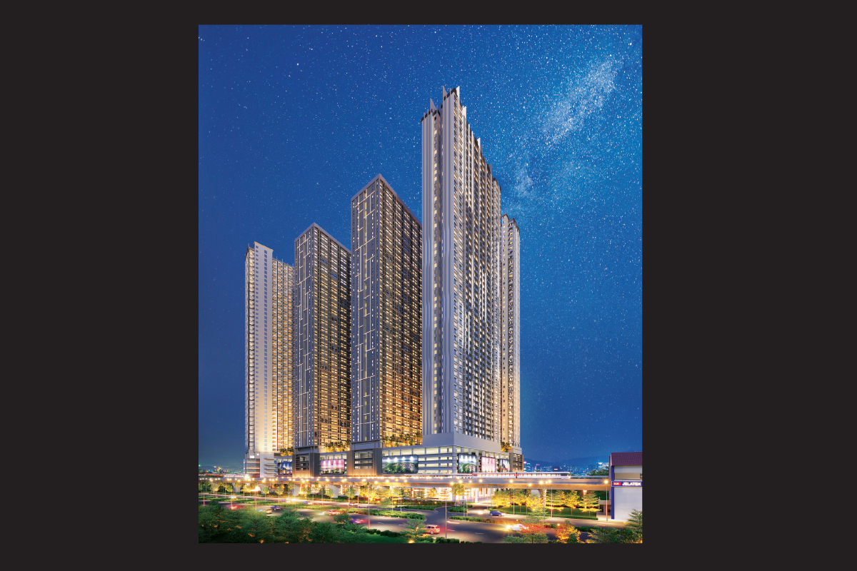 Artist's impression of Astrum Ampang, which has an estimated GDV of RM1.6 billion (Photos by Setia Awan)