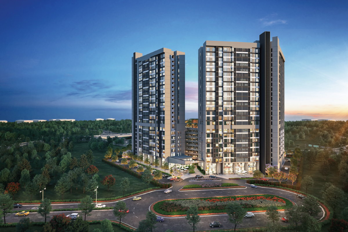 Ara Serviced Residence @ Myra Impian will comprise a total of 546 units (Photo by OIB)