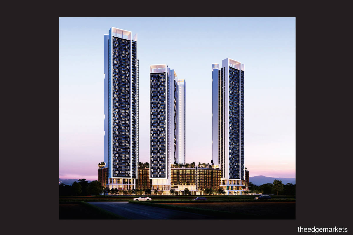 The Valley Residences comprises Towers A, B and C and with 1,309 units in total (Photos by  SkyWorld)