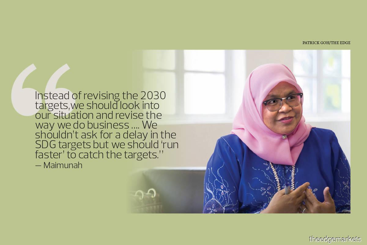 Ramp up efforts to achieve UN Sustainable Development Goals
