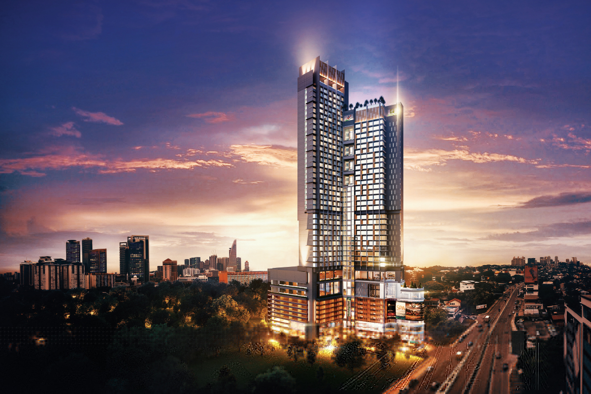 An artist's impression of Alfa Bangsar, which  is scheduled to be completed in 3Q2023 (Photo by City Motors)