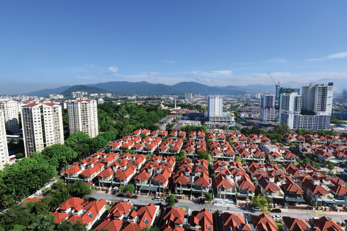 Bandar Menjalara is popular with families owing to its excellent amenities and proximity to schools in the neighbouring areas (Photo by Patrick Goh/The Edge)