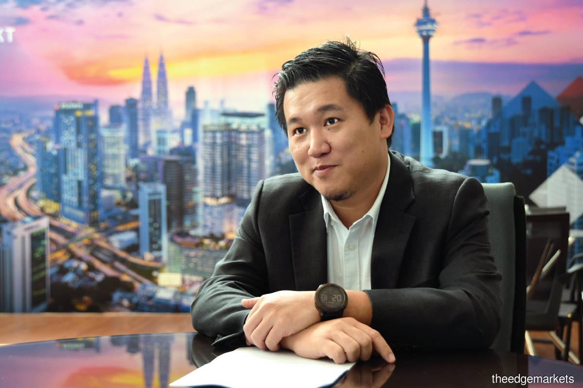 """""""We are constantly looking for new opportunities for land, whether due to a fire sale, a bargain from market prices or via a joint venture with landowners."""" — Yong (Photo by CBHB)"""
