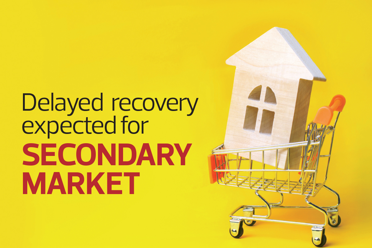 Delayed recovery expected for secondary market