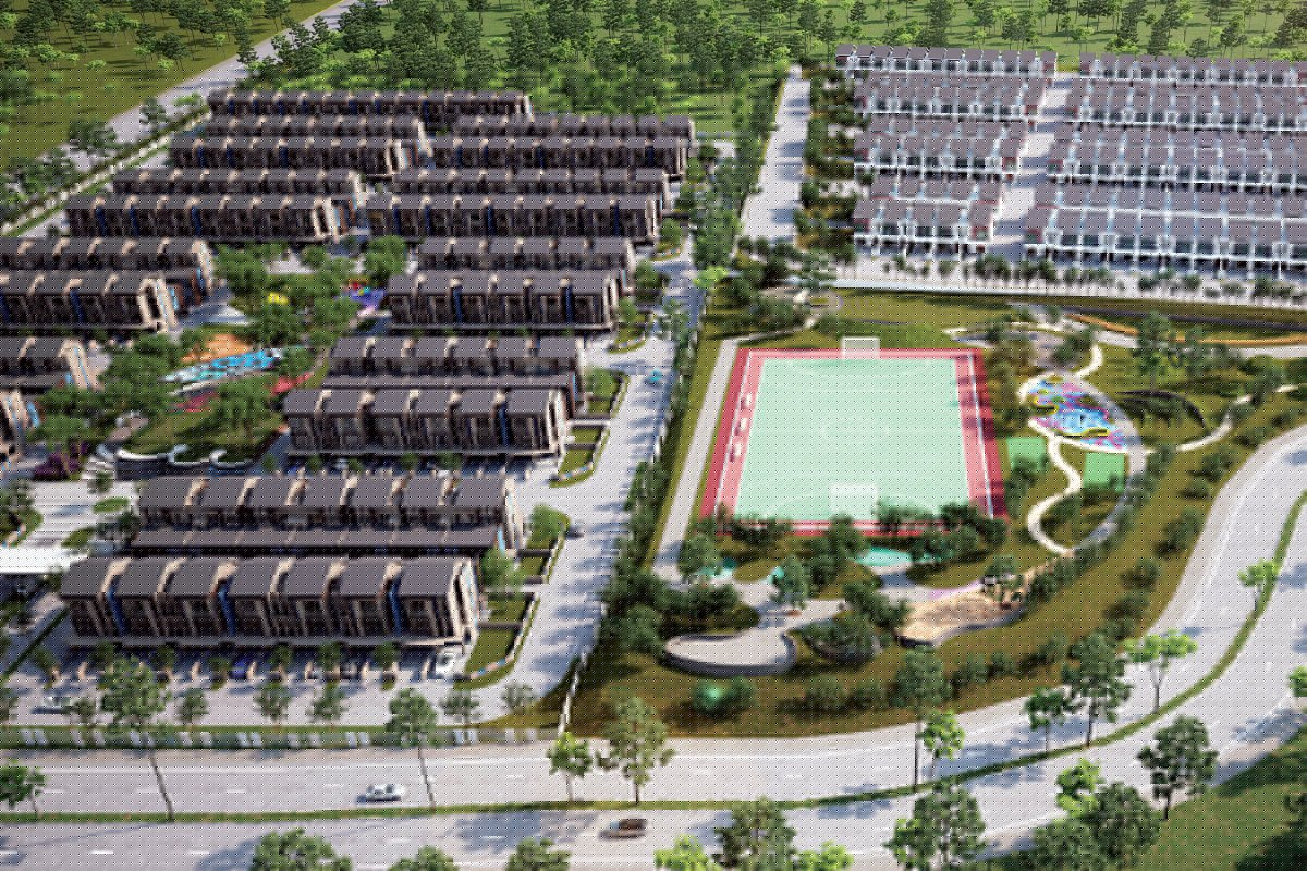 Right: The 63-acre Akasia development in Semenyih will comprise townvillas, 2-storey terraced homes and Rumah Selangorku units (Photo by Gadang Land)