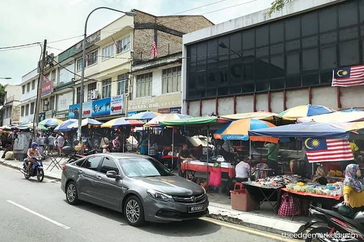 Jalan Pasar area a shopping hub for electrical goods