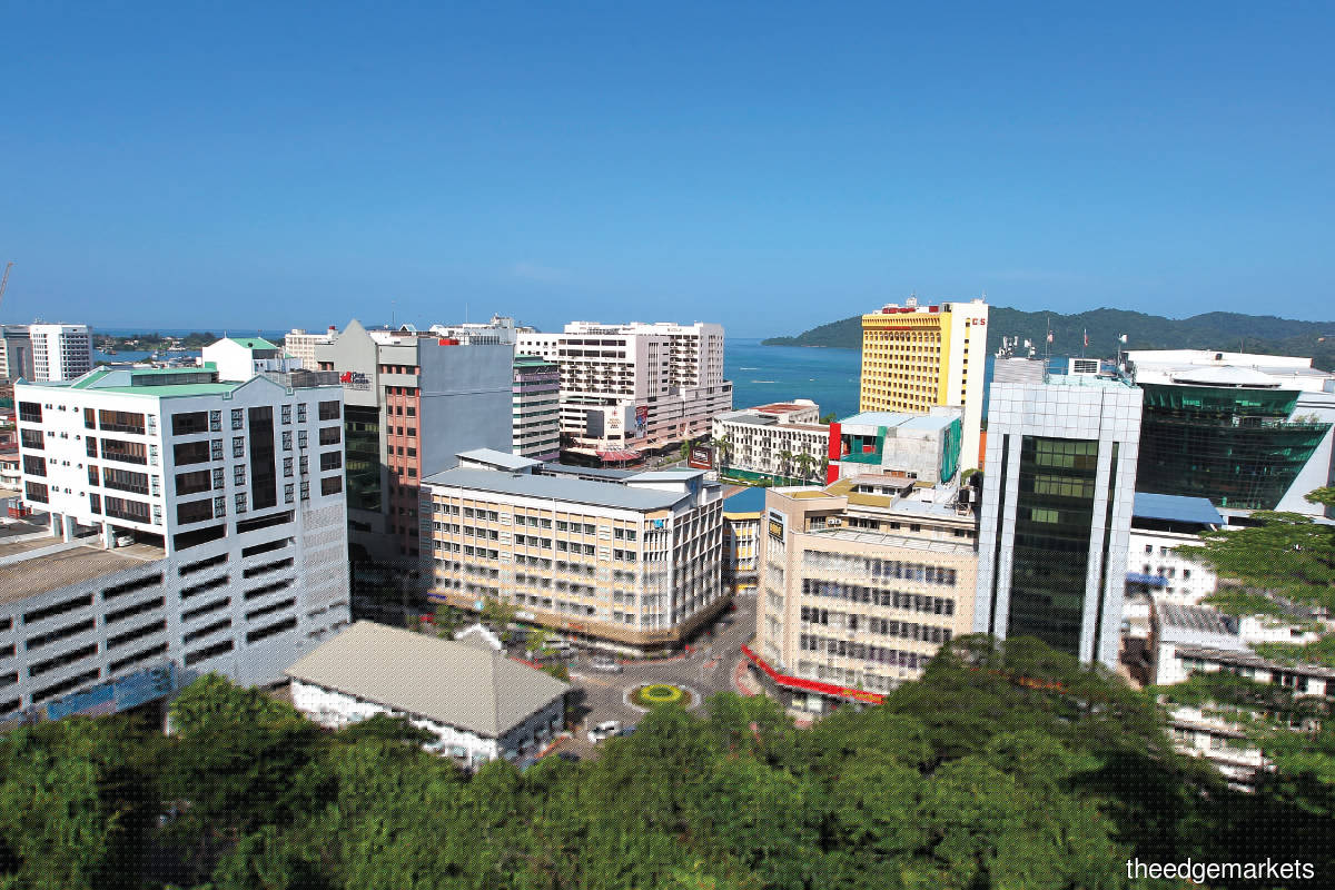 The Kota Kinabalu property samples showed growth in the landed property segment, whereas high-rise properties did not fare well (Photo by Mohd Shahrin Yahya)