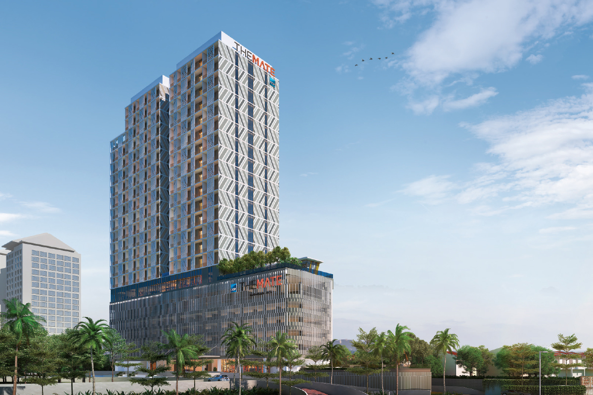 The Mate development will offer 268 signature suites with a  co-working,  co-living component and retail units  (Photo by OCR Group)
