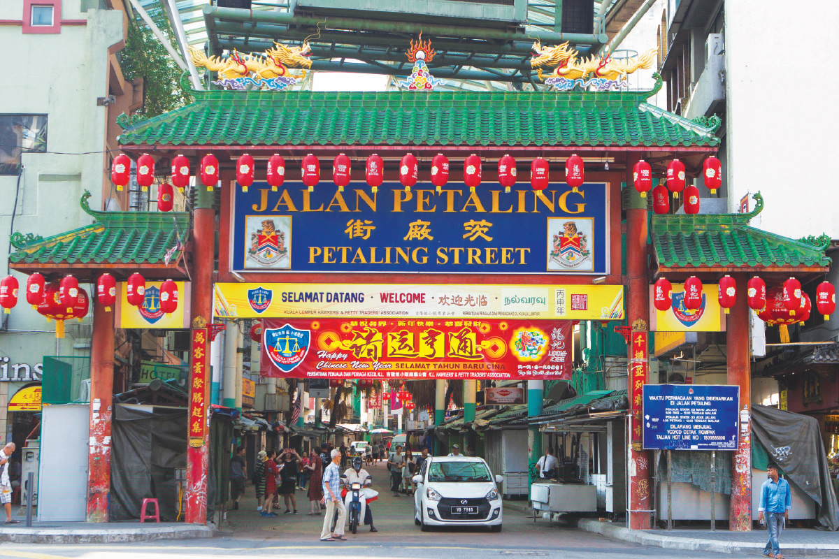 In 2003, the government spent RM11 million to transform Petaling Street into a pedestrian shopping arcade (Photo by Patrick Goh/The Edge)