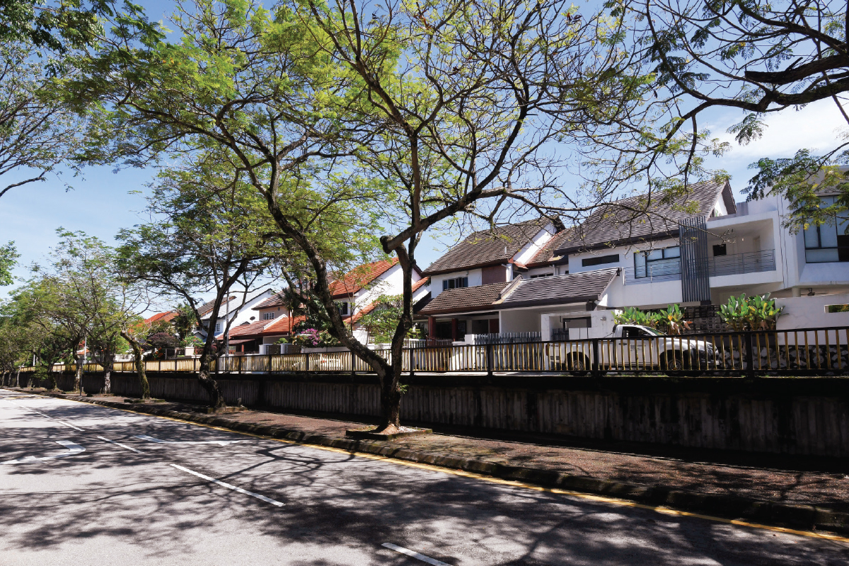 Taman Tun is considered a well-planned township, even by today's standards, with wide roads and an abundance of greenery (Photo by Patrick Goh/The Edge)