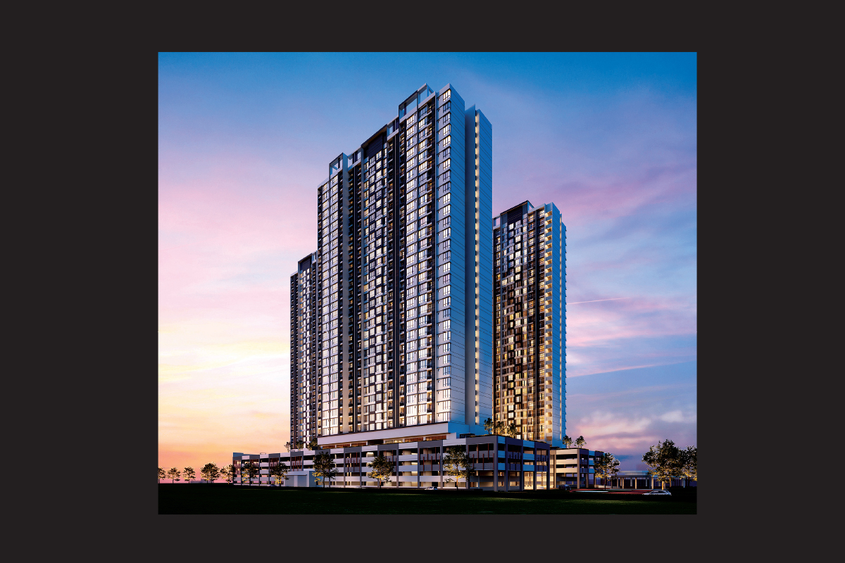Trellis Residences will comprise 1,737 units housed in three 29-storey towers (Photo by MB World Group)