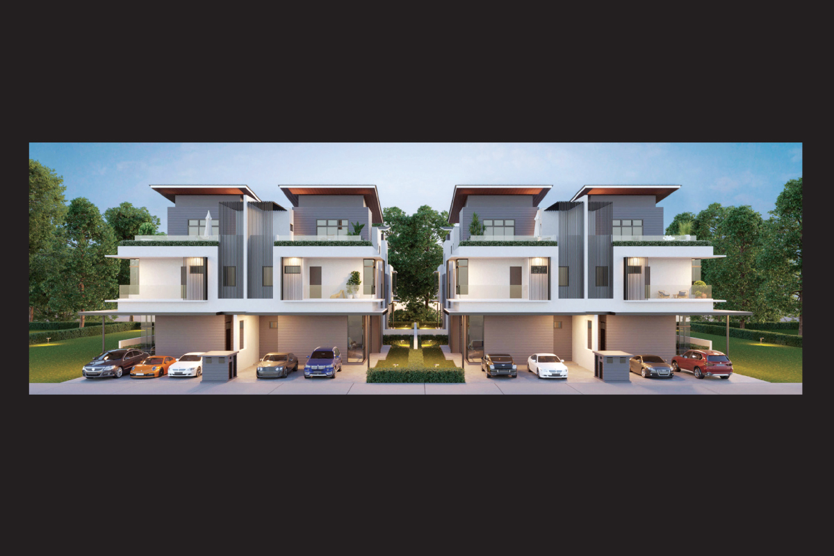 Artist's impression of the semi-detached homes (Photo by BCB)