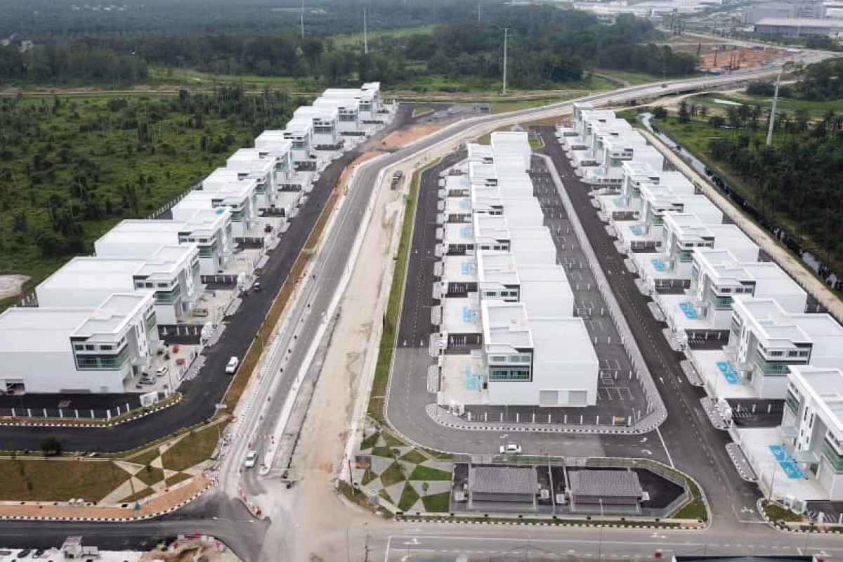 Sitting on a 21-acre tract to the southeast of Batu Kawan, Golden Gateway has a GDV of RM180 million (Photo by Golden Gateway)