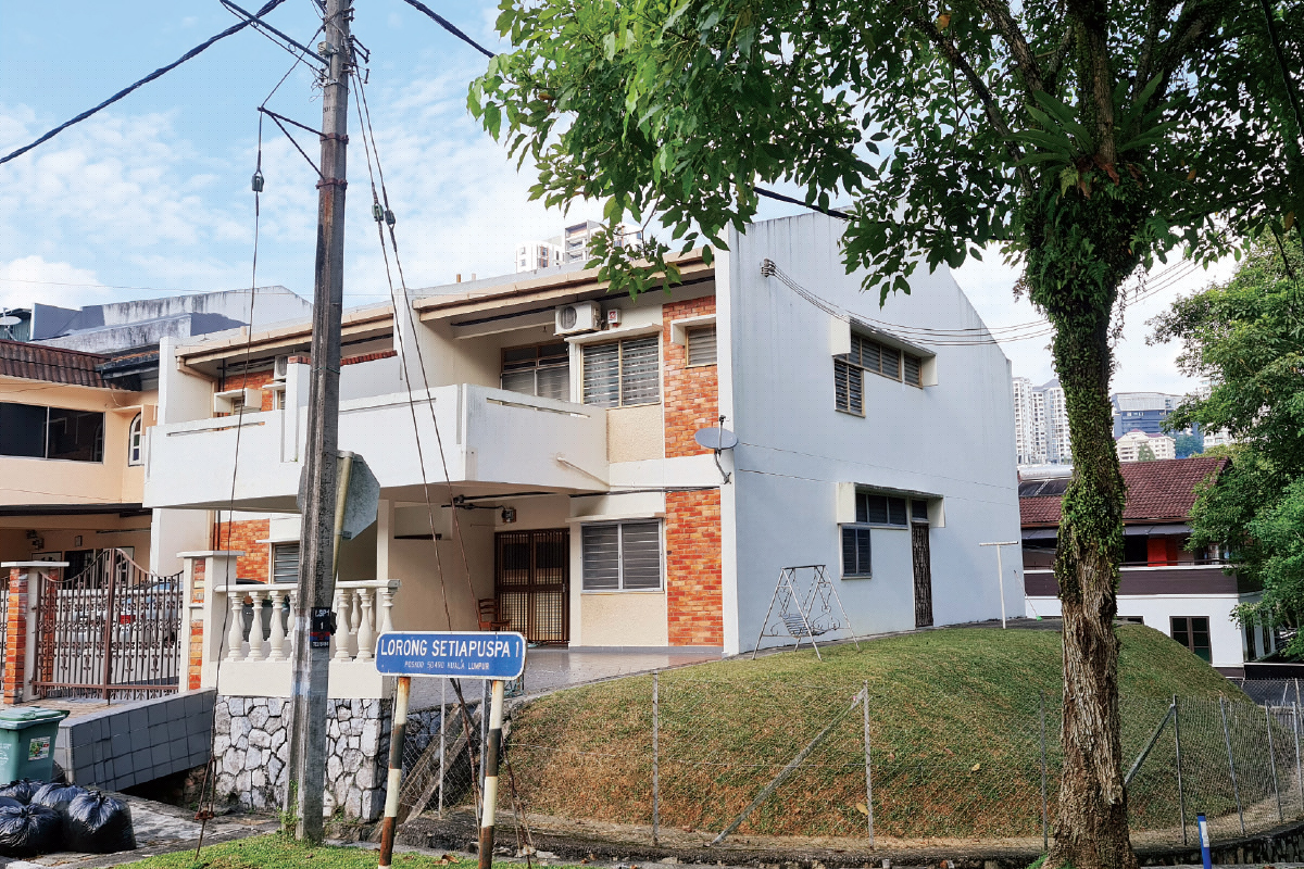 The family house in Medan Damansara (Photo by Wong King Wai/The Edge)